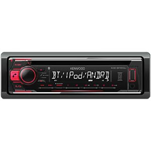 CD/iPod/MP3/USB/rot/Android Music Control/Bluetooth KENWOOD KDCBT510U