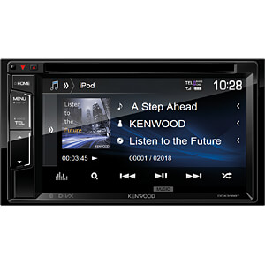 Multimedia-Receiver, 15,7 cm Touch-Display, A2DP Streaming KENWOOD DDX318BT