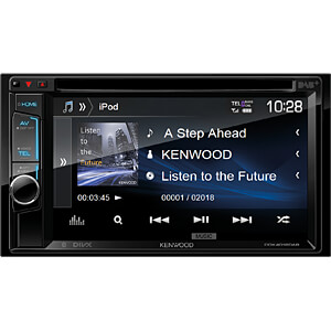 Multimedia-Receiver, 15,7 cm Touch-Display, DAB+ KENWOOD DDX4018DAB