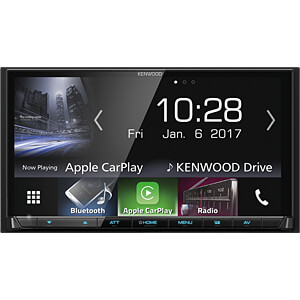 Multimedia-Receiver, 17,7 cm Touch-Display, A2DP Streaming, Hi-R KENWOOD DMX7017BTS