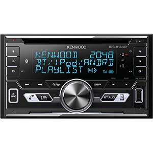 Digital-Media-Receiver, AOA 2.0, A2DP, USB, CD, Bluetooth KENWOOD DPX-5100BT