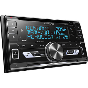 Digital-Media-Receiver, DAB+, AOA 2.0, A2DP, Bluetooth KENWOOD DPX-7100DAB
