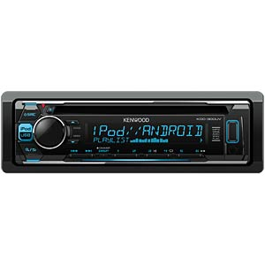 CD-Receiver with iPod/iPhone direct control KENWOOD KDC300UV