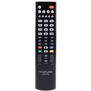 Universal remote control for 2 devices KÖNIG KN-RCU40B