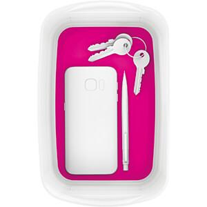 Leitz MyBox, Aufbewahrungsschale, weiß/pink LEITZ 52571023