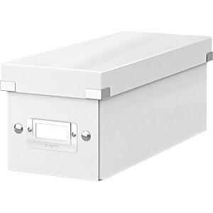 Archivbox C&S WOW CD weiß LEITZ 60410001