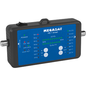 Level meter, satellite measurement device with power bank MEGASAT 200019