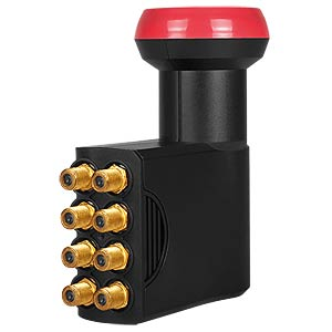 Universal Octo LNB, 0,1dB, 40mm Feed MEGASAT 0401024