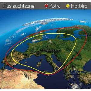 Vollautomatisches Satelliten-System MEGASAT 1500056