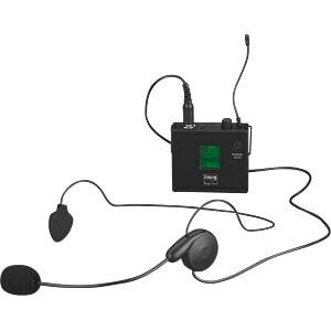 Multi-Frequenz-Kopfbügelmikrofon-Sender IMG STAGE LINE 25.4360