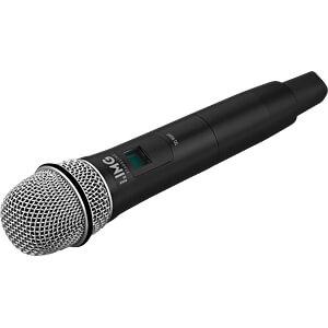 Handmikrofon mit integriertem Multi-Frequenz-Sender IMG STAGE LINE 25.5260