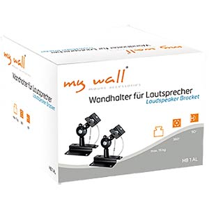 Wandhalter für Lautsprecher MYWALL HB1A