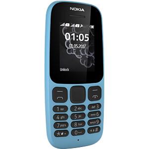 Mobiltelefon, Dual-SIM, blau NOKIA A00028534