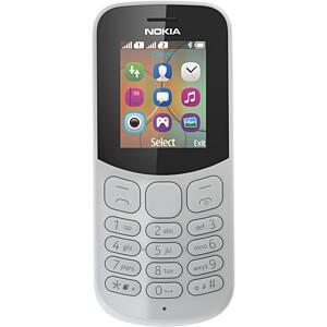 Mobiltelefon, Dual-Sim, grau NOKIA A00028488