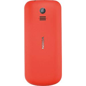 Mobiltelefon, Dual-Sim, rot NOKIA A00028486