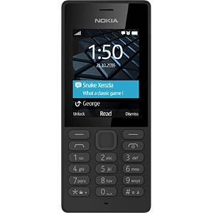 Mobiltelefon, lange Akkulaufzeit, schwarz NOKIA A00028007