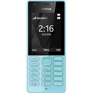 Mobiltelefon, Dual-SIM, blau NOKIA A00028013