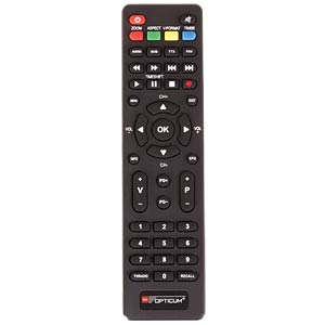 Receiver, DVB-T2, full HD, PVR, FTA OPTICUM RED 23006