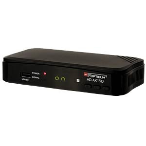 Receiver, SAT, DVB-S2, HDTV, FTA OPTICUM RED AX150 PVR