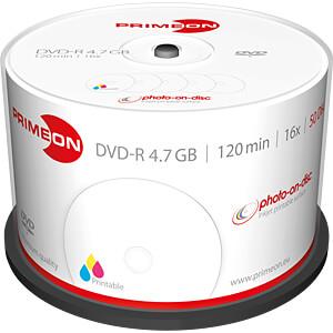 PRIM 2761206 - DVD-R 4.7GB/120Min
