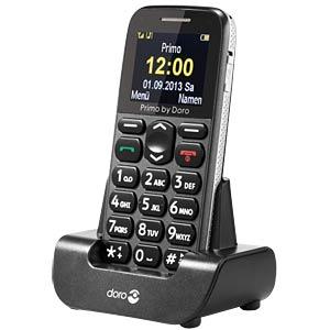 Mobiltelefon, große Tasten, grau DORO 360032