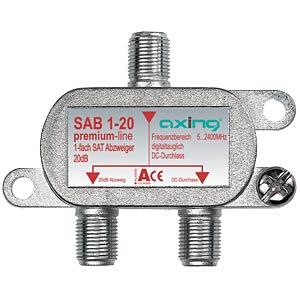Axing 1fach SAT-Abzweiger AXING SAB00120