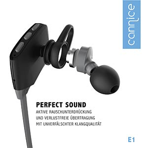 Bluetooth Ohrhörer, In-Ear, schwarz CANNICE SC1301