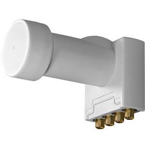LNB, Quad, 40 mm, UHD 3D geeignet AXING SCO00401