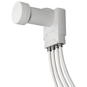 LNB, Quattro, 40 mm, UHD 3D geeignet AXING SCO00400