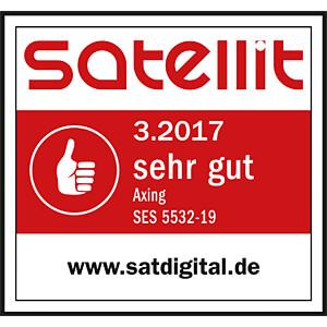 Programmierbarer Unicable II Multischalter AXING SES553219