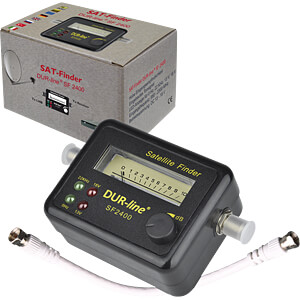 Satellite finder/analogue display DUR-LINE SF-2400