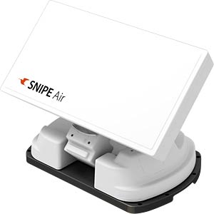 SAT>IP Wifi Automatic Flat Satellite Antenna SELFSAT SNIPE AIR