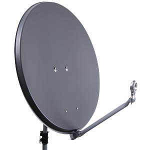 SAT satellite dish, 75 cm, anthracite DUR-LINE 12081
