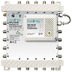 Axing 5X10 premium-line multiswitch AXING SPU51009