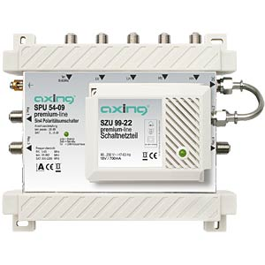 Axing 5X4 premium-line multiswitch AXING SPU5409