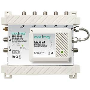 Multischalter, 5 / 4, Premium-Line AXING SPU5409