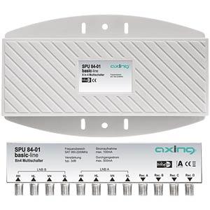 Multischalter, Aussenmontage, für 2 Quattro LNB AXING SPU08401
