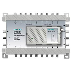 Axing 9X6 premium-line multiswitch AXING SPU09609
