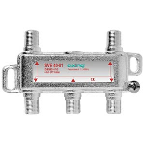 Axing 4-way SAT distributor, basic line AXING SVE04001