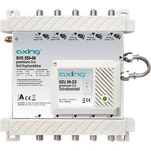 Axing Kopfverstärker 5 in 5 premium-Line AXING SVS55009