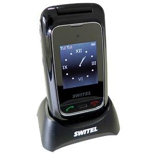 DUAL SIM Uitklapbare mobiele telefoon met grote toetsen SWITEL M270D MAPA