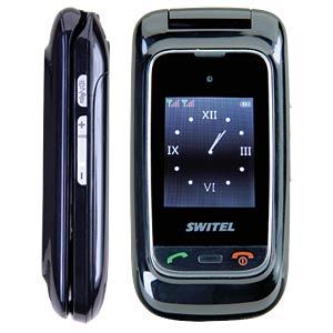 Mobiltelefon, Klapphandy, Dual-SIM, große Tasten SWITEL M270D MAPA