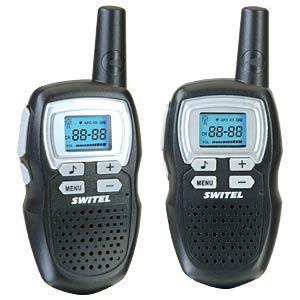 PMR Funkgeräte Set schwarz SWITEL WTE2310