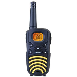 PMR radio set zwart-geel SWITEL WTF3700B