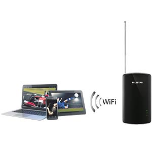 Mobiler Empfänger, Akku, DVB-T2, HDTV, FTA TELESTAR 5310506