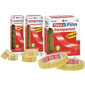 tesafilm® transparent, 33 m x 15 mm, 10 Rollen TESA 57371-00002-00
