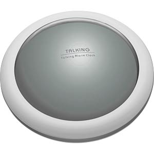 TFA 60200854 - Sprechender Wecker mit Zeit- und Temperaturansage