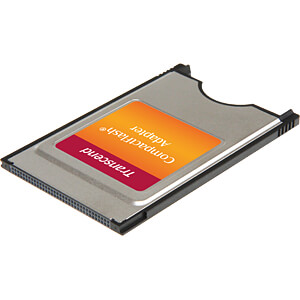 Kaartlezer, intern, adapter, CompactFlash, PCMCIA TRANSCEND TS0MCF2PC