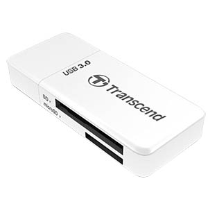 Multi-card reader USB 3.0, white TRANSCEND TS-RDF5W
