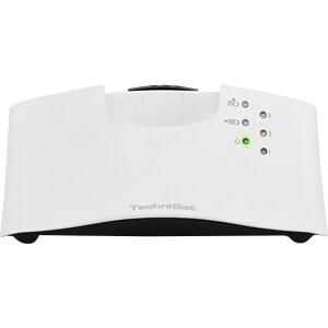 Stereo tv draadloze hoofdtelefoon, wit TECHNISAT 0000/9125